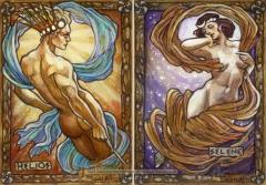 soleil,lune,masculin,féminin,inversion